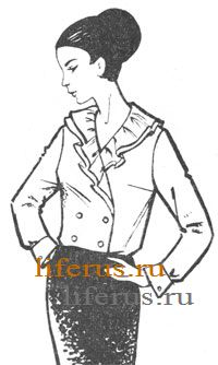 Блузки - основные чертежи выкроек